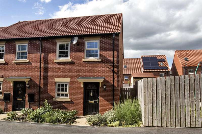 3 Bedrooms End Of Terrace House for sale in Turnberry Avenue, Ackworth, West Yorkshire, WF7