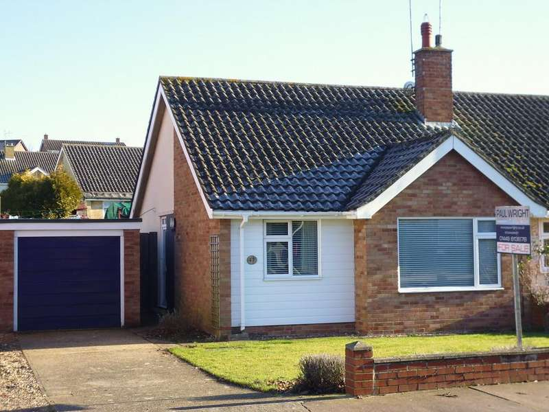2 Bedrooms Semi Detached Bungalow for sale in Lavenham Way, Stowmarket