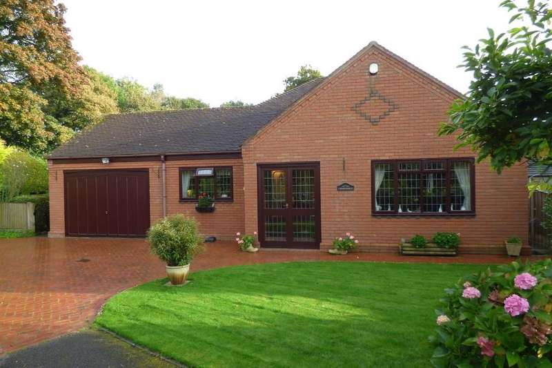 3 Bedrooms Detached Bungalow for sale in Old Lane, Checkley, Stoke on Trent, Staffordshire, ST10 4NQ