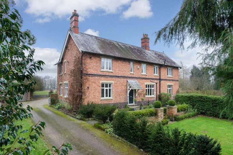 5 Bedrooms Detached House for sale in Marley Green, Marbury