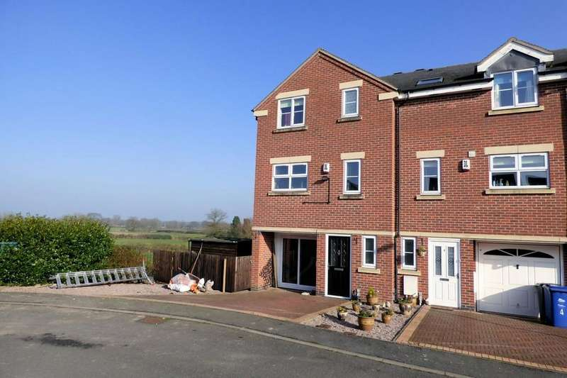 4 Bedrooms Semi Detached House for sale in Pegg Court, Anslow