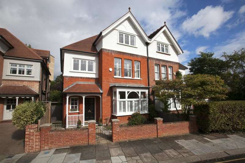 5 Bedrooms Semi Detached House for sale in Spring Grove Road, Richmond TW10