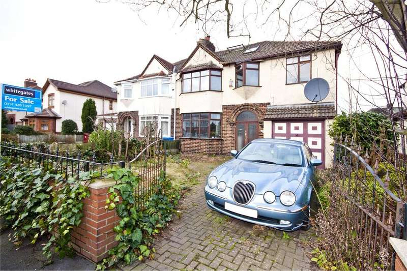 4 Bedrooms Semi Detached House for sale in Boundary Drive, Hunts Cross, Liverpool, Merseyside, L25