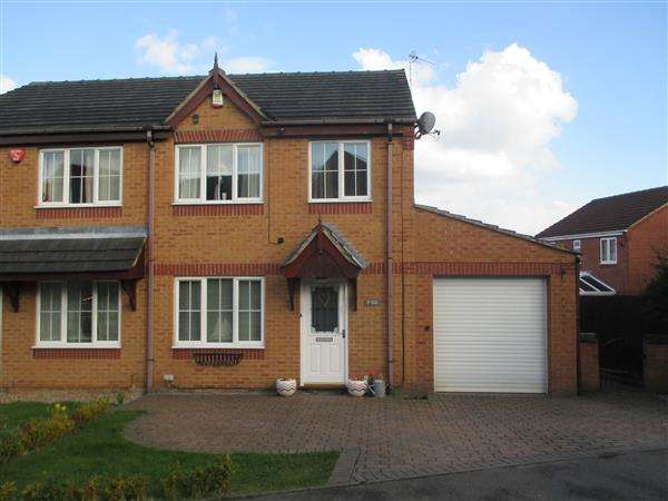 3 Bedrooms Semi Detached House for sale in Sussex Close, Giltbrook, Nottingham