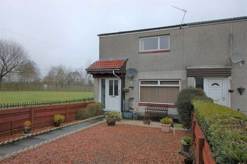 2 Bedrooms End Of Terrace House for sale in Race Road, Bathgate