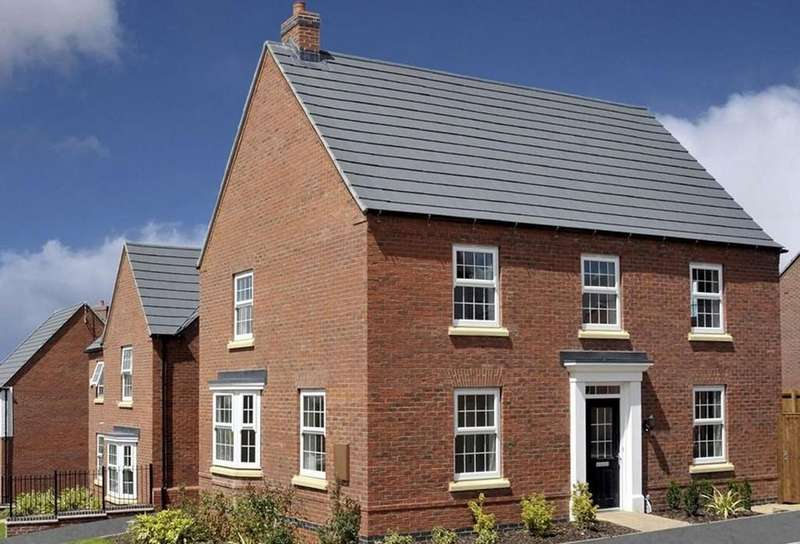 4 Bedrooms Detached House for sale in Hastings Park, Ashby-de-la-Zouch