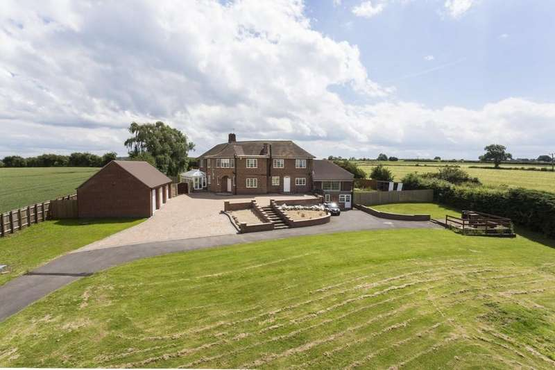 5 Bedrooms Detached House for sale in Ashby Road, Osgathorpe