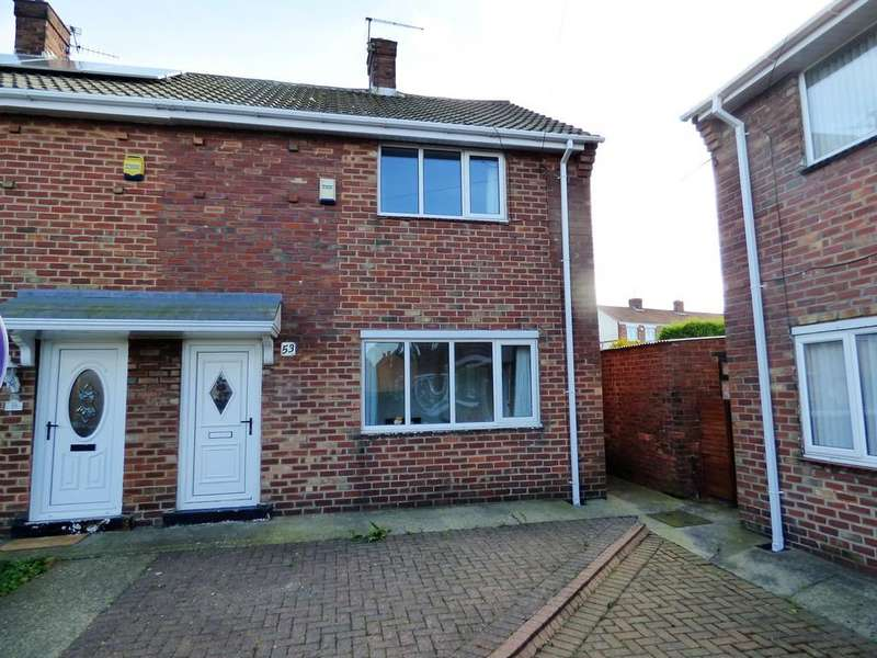 2 Bedrooms Semi Detached House for sale in Essex Crescent, Seaham