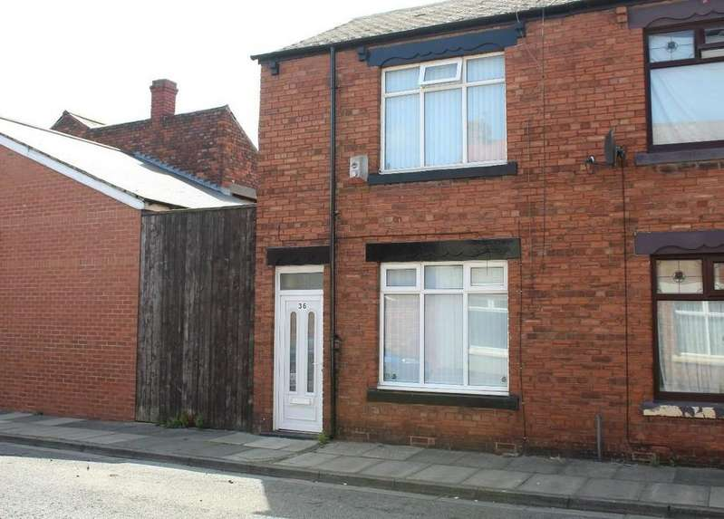 3 Bedrooms End Of Terrace House for sale in Marlborough Street, Hartlepool