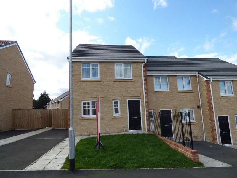 3 Bedrooms End Of Terrace House for sale in Donnington Place , Consett