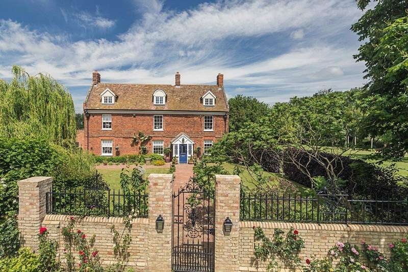 5 Bedrooms Detached House for sale in Old Wimpole Road, Arrington, Royston, Hertfordshire