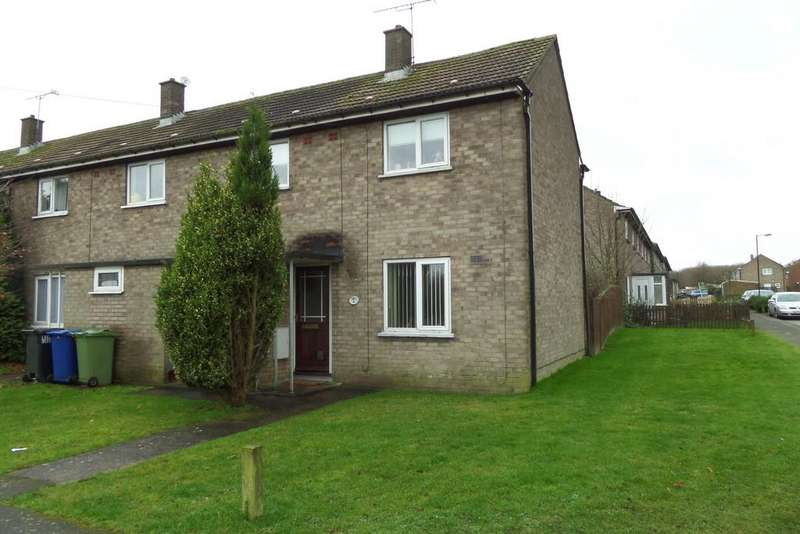 2 Bedrooms End Of Terrace House for sale in Capper Avenue, Hemswell Cliff