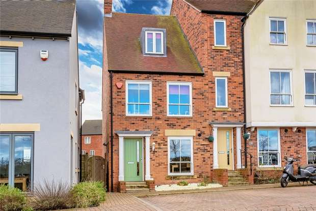 3 Bedrooms End Of Terrace House for sale in 20 Long Row Drive, Lawley Village, Telford, Shropshire