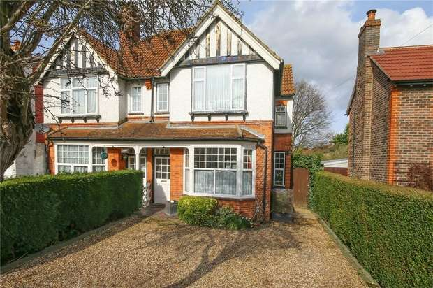 3 Bedrooms Semi Detached House for sale in Horsell, Surrey