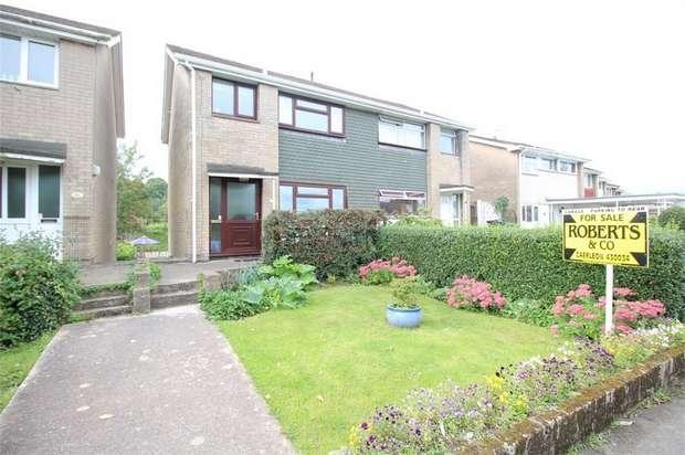 3 Bedrooms Semi Detached House for sale in Hafod Road, Ponthir, NEWPORT, Torfaen