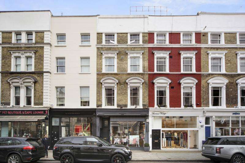 1 Bedroom Flat for sale in Westbourne Grove, Notting Hill, London, W11