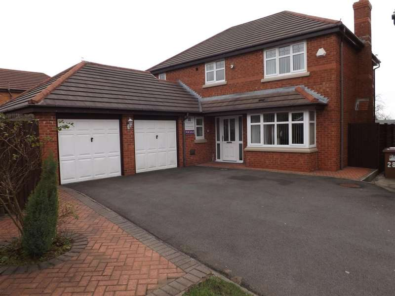 4 Bedrooms Detached House for sale in Hedworth Gardens, St Helens WA9