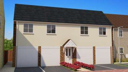 2 Bedrooms House for sale in Wittel Close, Windmill Street, Whittlesey, Cambridgeshire