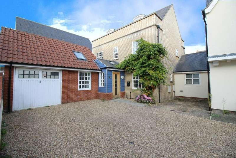 5 Bedrooms Link Detached House for sale in High Street, Rowhedge, Colchester, Essex, CO5
