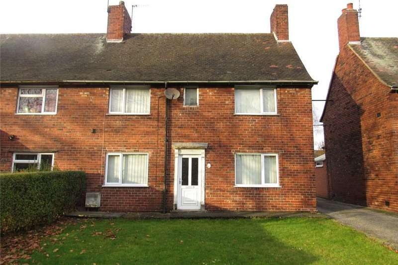 3 Bedrooms Semi Detached House for sale in Mansfield Road, Clipstone, Nottinghamshire, NG21