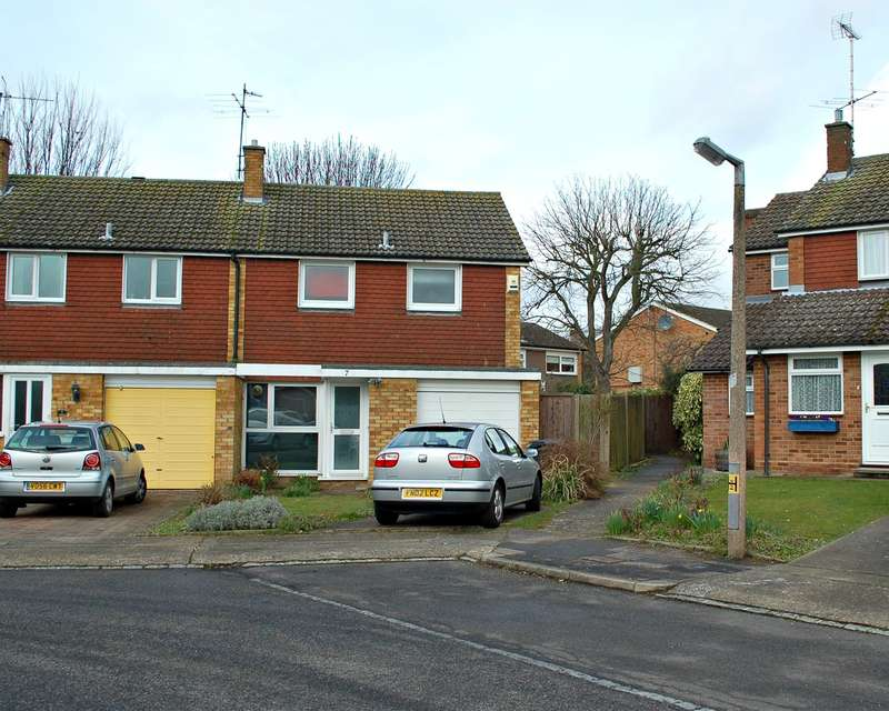 3 Bedrooms End Of Terrace House for sale in Franklin Gardens, Hitchin, SG4