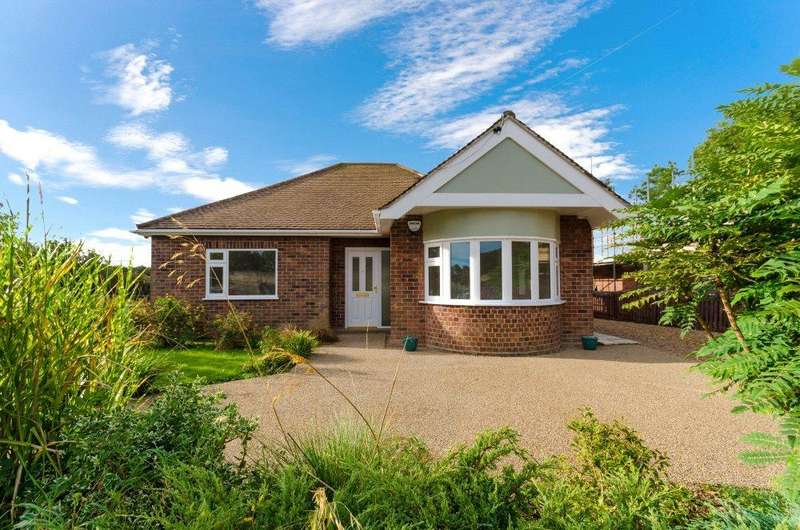 3 Bedrooms Detached Bungalow for sale in Holdingham, Sleaford, Lincolnshire, NG34