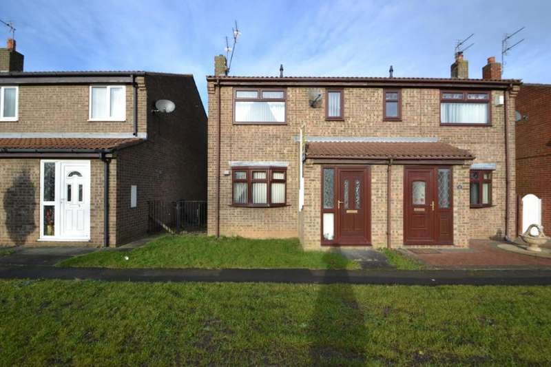 3 Bedrooms Semi Detached House for sale in East Green, Shotton Colliery, Co.Durham, DH6