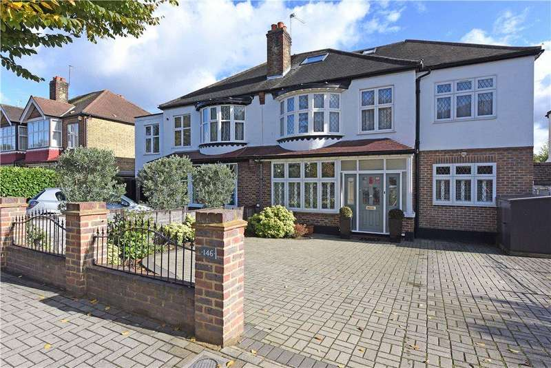 5 Bedrooms Semi Detached House for sale in Sutherland Grove, Southfields, London, SW18