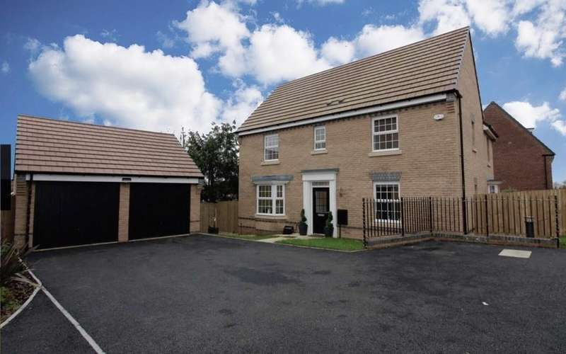 4 Bedrooms Detached House for sale in Ty'n-y-Gollen Court, Old St. Mellons