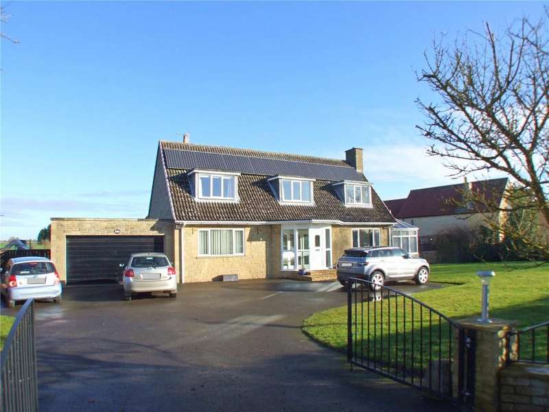 4 Bedrooms Detached House for sale in Eastgate, Deeping St. James, Peterborough, PE6