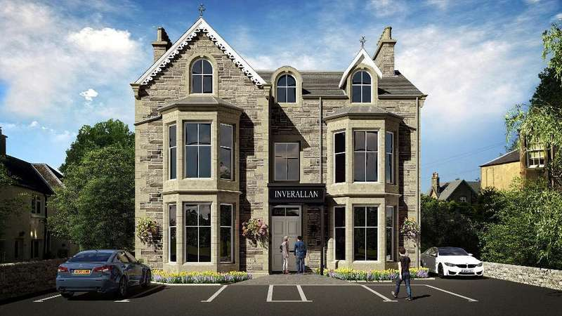 2 Bedrooms Flat for sale in Henderson Street, Bridge of Allan, Stirling, FK9 4HF