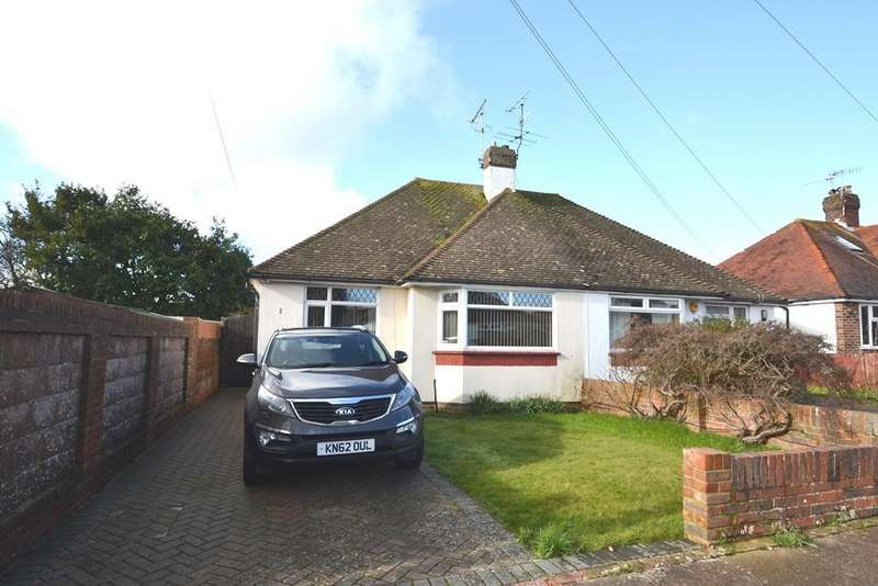 2 Bedrooms Semi Detached Bungalow for sale in Copthorne Hill, Worthing, BN13 2EH