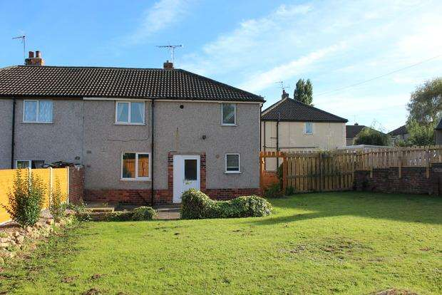 3 Bedrooms Semi Detached House for sale in Railway Avenue, Creswell, Worksop, S80