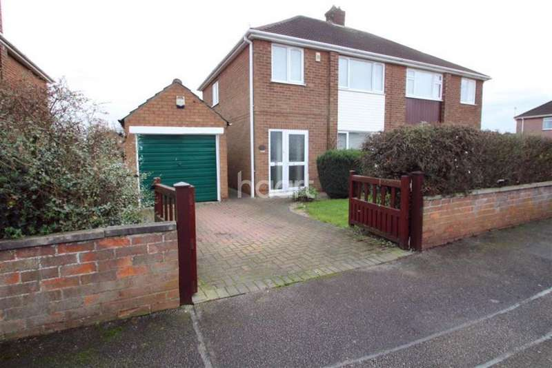 3 Bedrooms Semi Detached House for sale in Astwick Road, Lincoln
