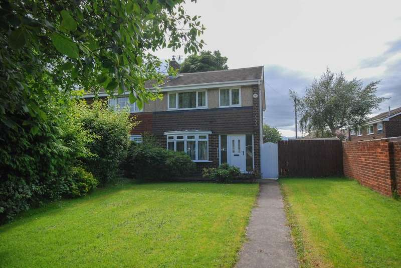 3 Bedrooms Semi Detached House for sale in Hendon Gardens, Jarrow