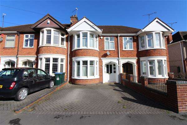 3 Bedrooms Terraced House for sale in Crossway Road, Finham, Coventry