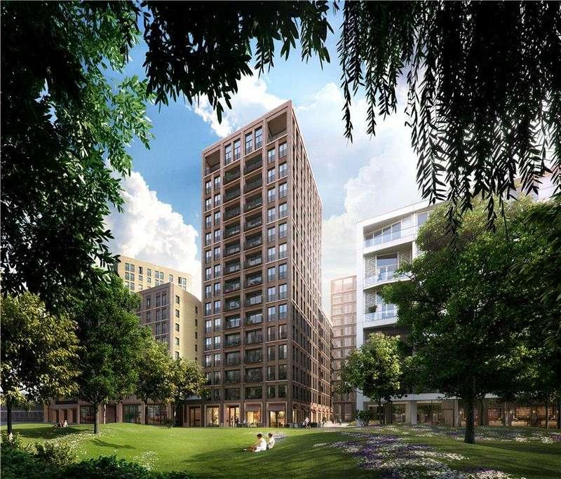 3 Bedrooms Flat for sale in Fenman House, 5 Lewis Cubitt Walk, King's Cross, London, N1C