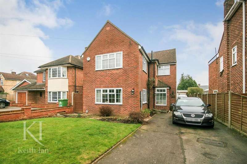 4 Bedrooms Detached House for sale in Ware Road, Hoddesdon