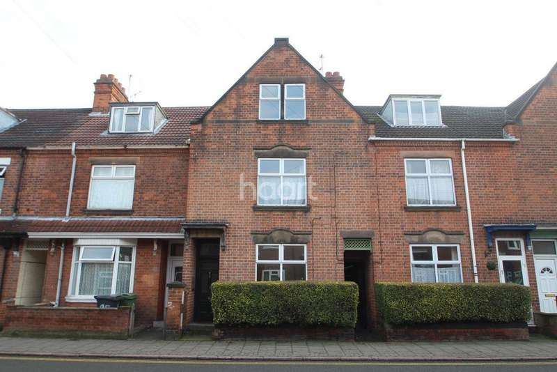 2 Bedrooms Terraced House for sale in Wharncliffe Road, Loughborough