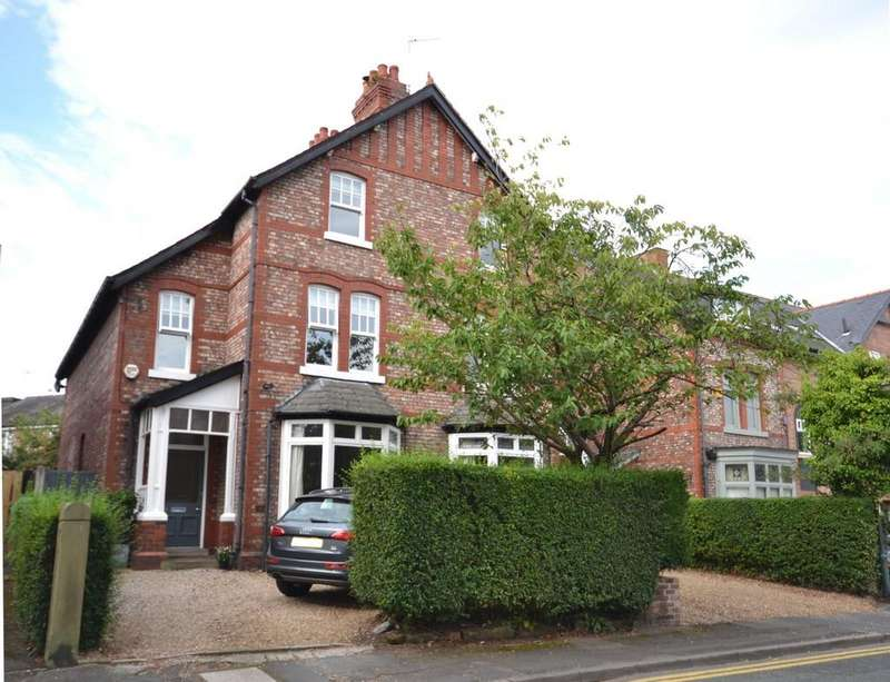 4 Bedrooms Semi Detached House for sale in Trafford Road, Alderley Edge