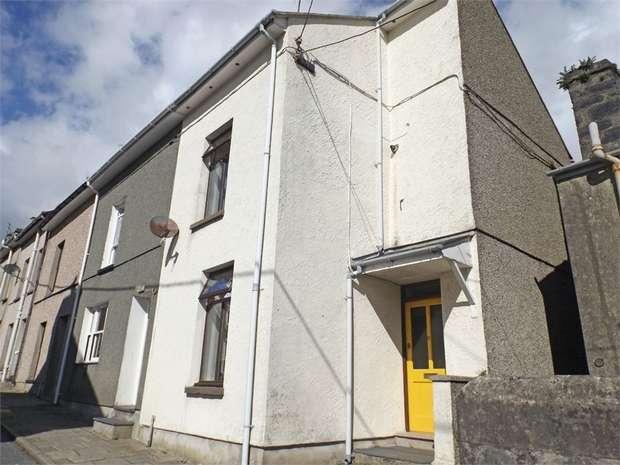 2 Bedrooms End Of Terrace House for sale in Dora Street, Porthmadog, Gwynedd