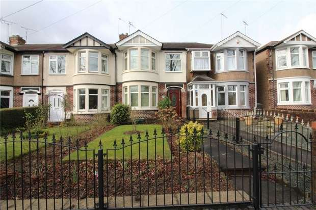 3 Bedrooms Terraced House for sale in Fletchamstead Highway, Tile Hill, COVENTRY