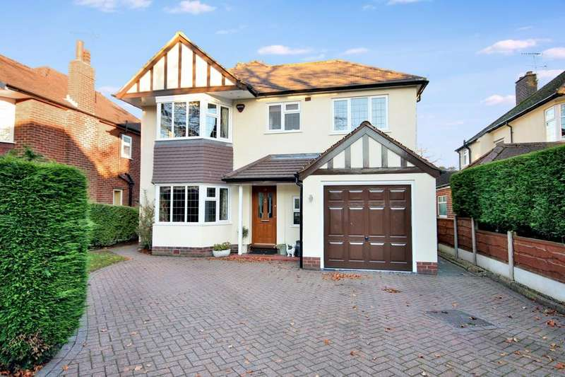 4 Bedrooms Detached House for sale in Beechway, Wilmslow