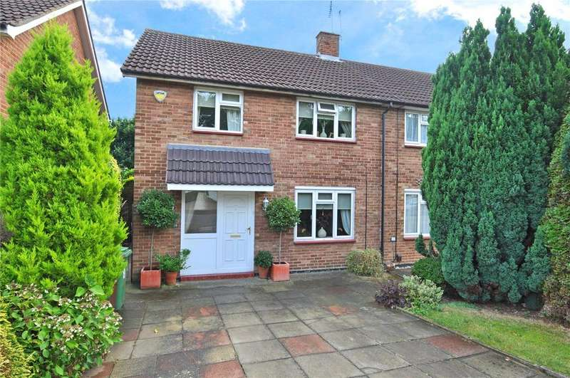 3 Bedrooms Semi Detached House for sale in Claremont, Bricket Wood, St. Albans, Hertfordshire