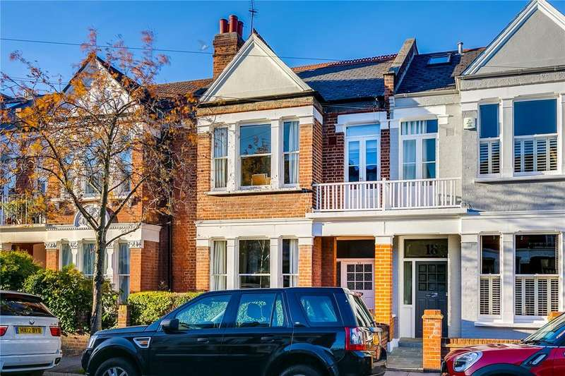 4 Bedrooms Terraced House for sale in Finlay Street, Bishops Park, Fulham