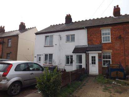 2 Bedrooms Terraced House for sale in George Town Cottages, Tempsford Road, Sandy, Bedfordshire