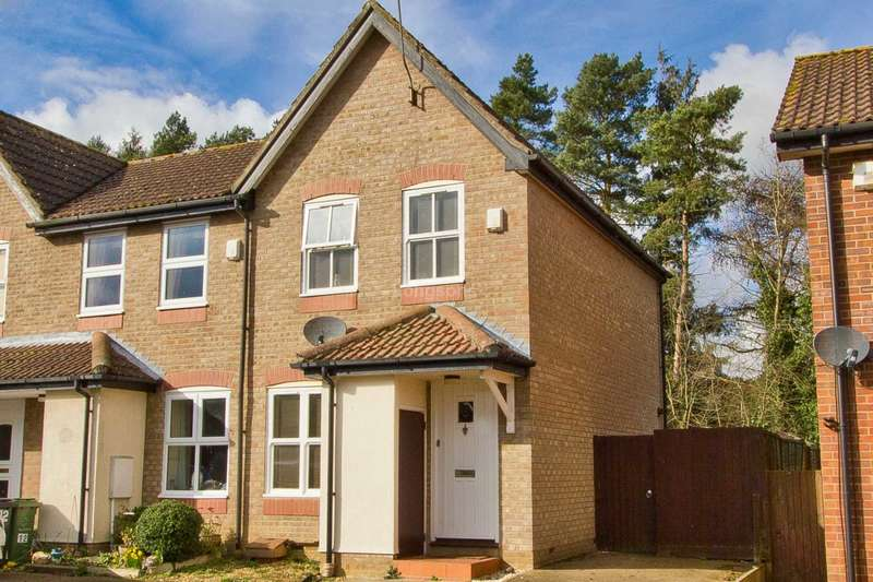 2 Bedrooms End Of Terrace House for sale in Hamilton Close, Swaffham