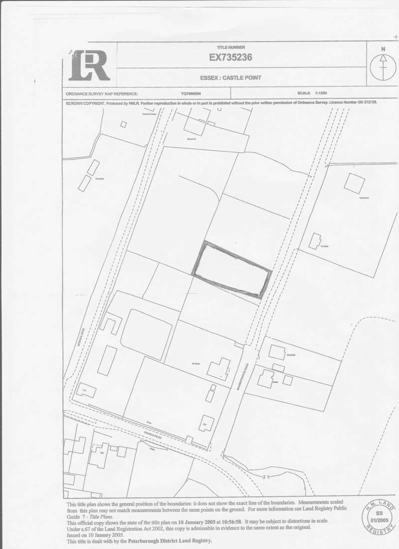Land Commercial for sale in Bassenthwaite Road, Benfleet