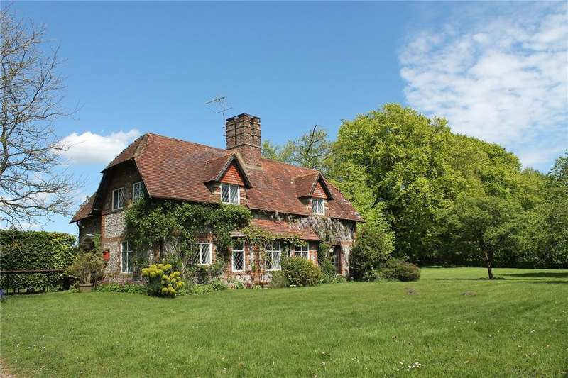 4 Bedrooms Detached House for sale in Northington Down, Near Alresford, Hampshire, SO24