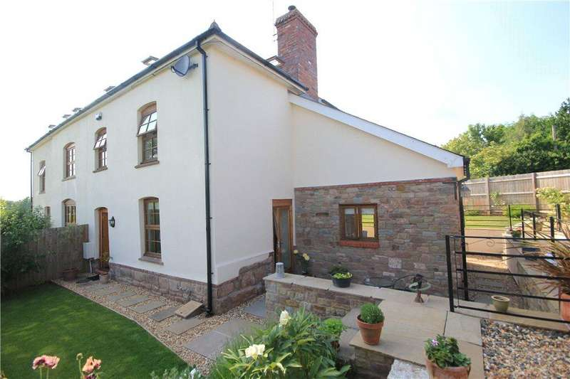 4 Bedrooms Semi Detached House for sale in Talbots Farm, The Rea, Sutton St. Nicholas, Hereford, HR1